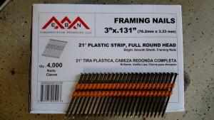 Framing Nail