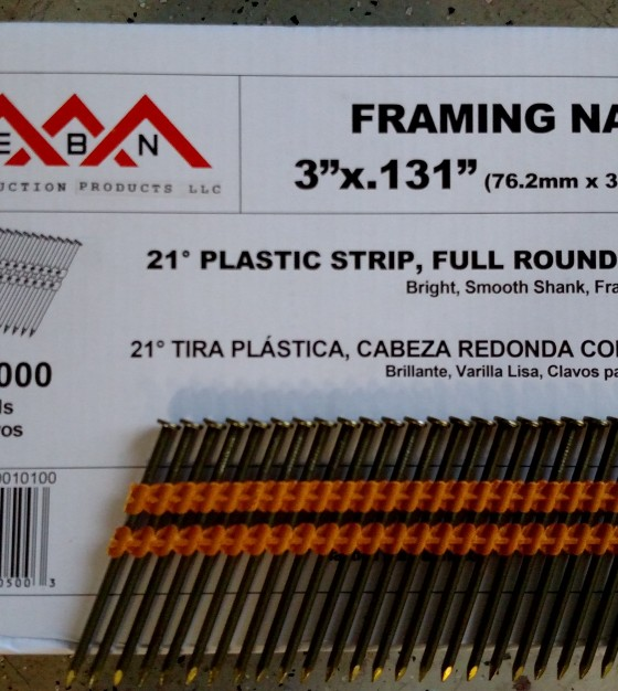 Delightful 3u2033 X .131 Framing Nails 21 Degree Plastic Collated